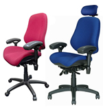 Bodybilt Heavy Duty Office Chair - 42 Stone