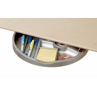 UnderDesk Rotating Pen Tray