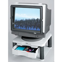 Fellowes R2 Monitor Raiser with Drawer