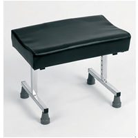 Leg Rest with Glide Feet, Height Adjustable
