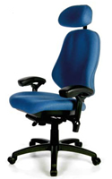BodyBilt Bariatric 3503 Chair with Headrest