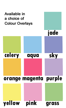 Visual Aids Colour Overlays