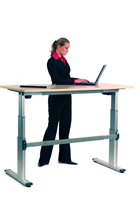 Electric Height Adjustable Desk - with desktop