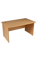 Formula General Workstation Panel End Desk