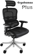 Ergohuman Plus Leather and Mesh Office Chair Head Rest