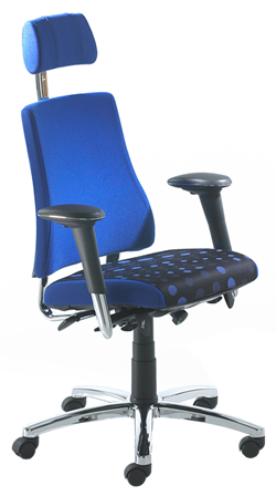 BMA Axia Office High Back - Arms, Headrest - Black Accessories