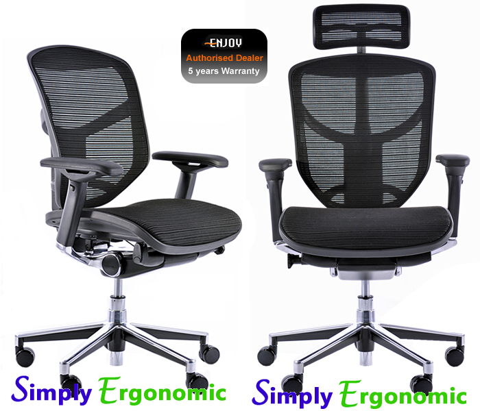 enjoy high back mesh office chairs best selling ergonomic chairs