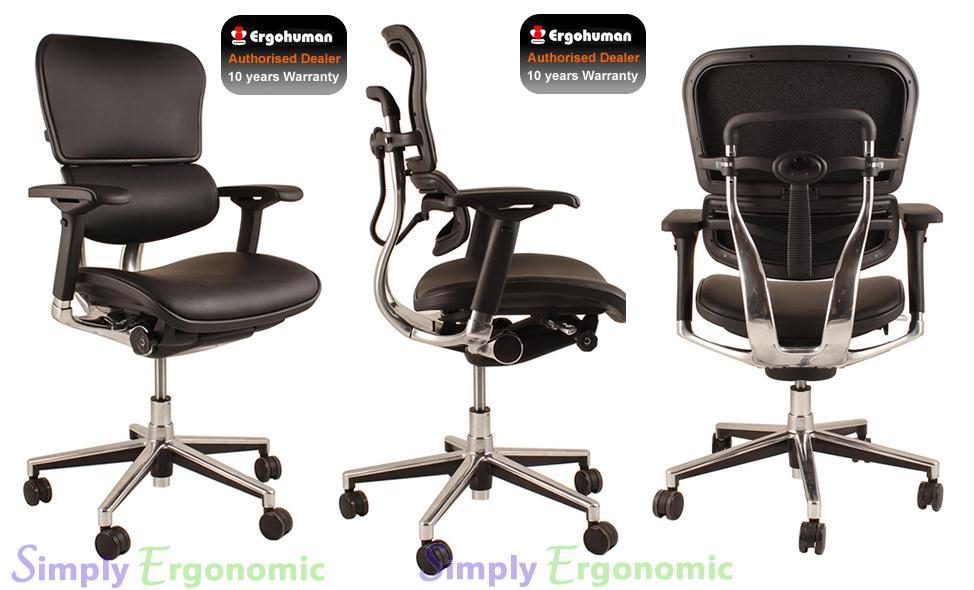 options available - Ergohuman