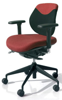 Active Ergonomics Flo1 Low Back Chair by Orangebox