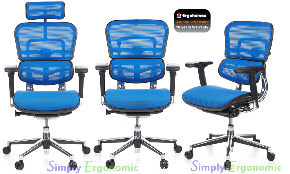 Ergohuman Ergonomic Office Chair | Ergohuman Mesh Office Chairs ...