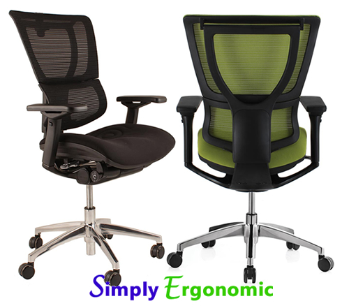Mirus-Office Chair - Part of the Ergohuman Range of Office Chairs