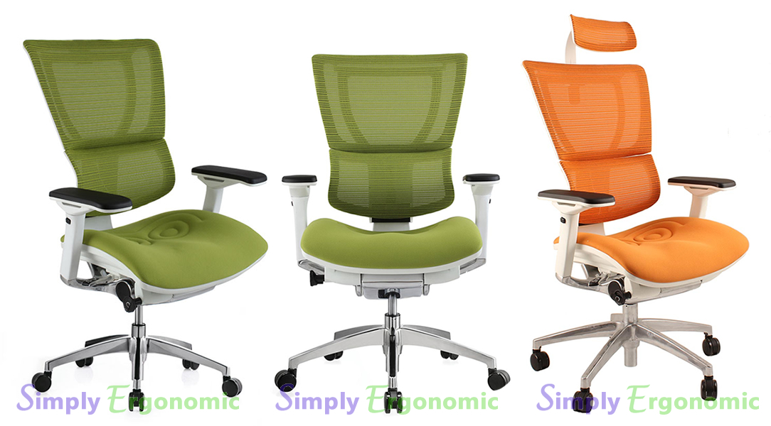 Mirus Mesh Office Chair With White Frame Mesh Office Chair - Ergonomic office chair uk