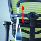 Ergohuman Backrest Height Adjustment