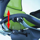Ergohuman Seat Height Adjustment