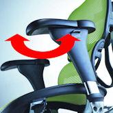 Armrest Angle Adjustment Control