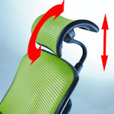Headrest Height and Angle Adjustment Control