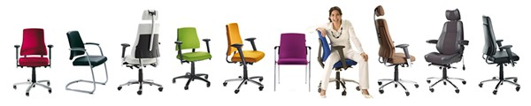 BMA Axia Ergonomic Office Chair Range