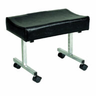 Leg Rest with Castors Height Adjustable
