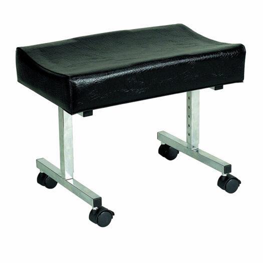 Leg Rest with Castors Height Adjustable