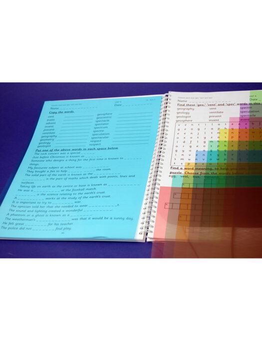 A4 Colour Overlays
