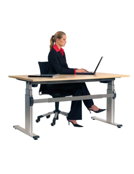 Aluforce Pro 250 Height Adjustable Desk Sitting