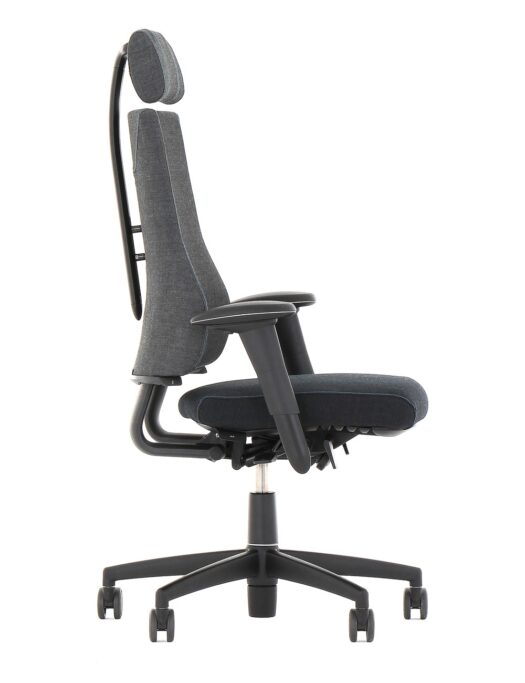 BMA Axia 2.4 Ergonomic Office Chair with Headrest Side