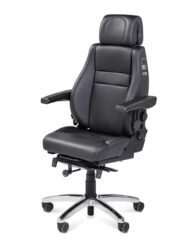 BMA Secur24 Exclusive Full Leather Control Room Chair