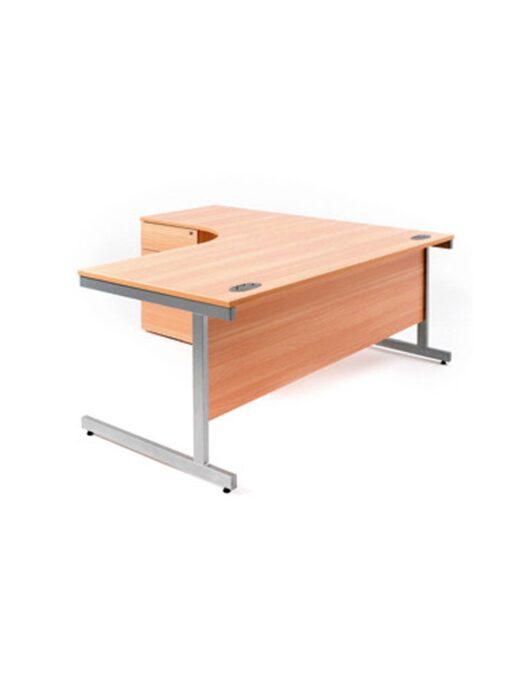 Corner Cantilever Office Desk