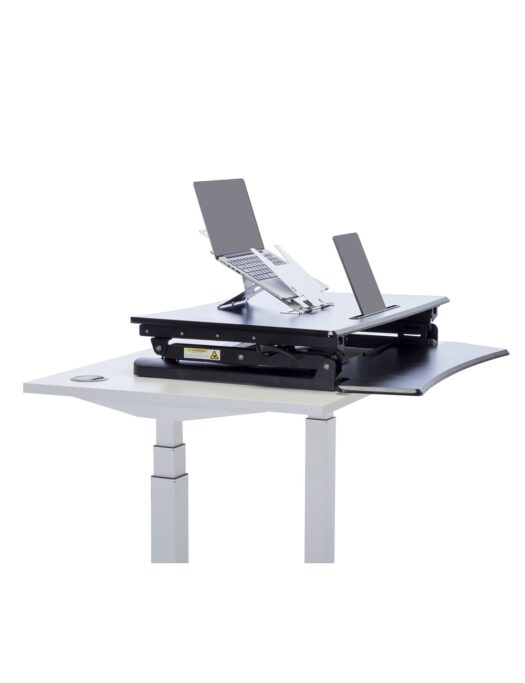 L-E-VATE® Standing Desk Closed