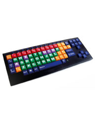 Multi-coloured Educational Key Monster Keyboard