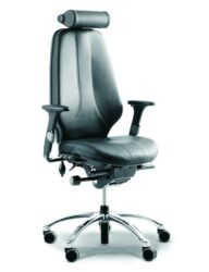 RH Logic 400 High Back Ergonomic Office Chair side