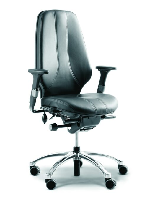 RH Logic 400 High Back Ergonomic Office Chair no Head Rest