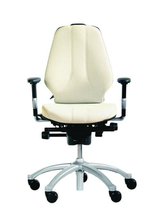RH Logic 300 Medium Back Ergonomic Office Chair white