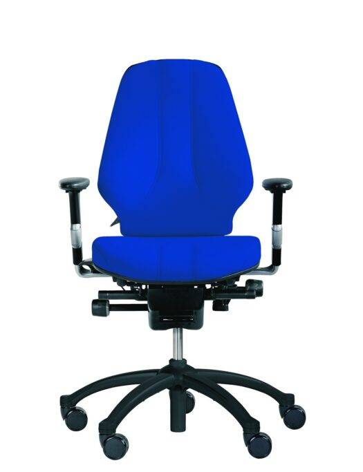 RH Logic 300 Medium Back Ergonomic Office Chair blue