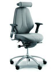 RH Logic 300 Medium Back Ergonomic Office Chair Head Rest