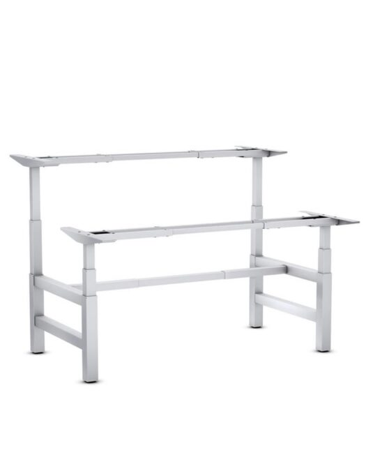 STEELFORCE PRO 470 SLS Bench Height Adjustable Desk White