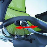 Ergohuman Seat Depth Adjustment