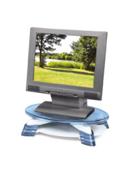 Swivelling Flat Screen Monitor Raiser