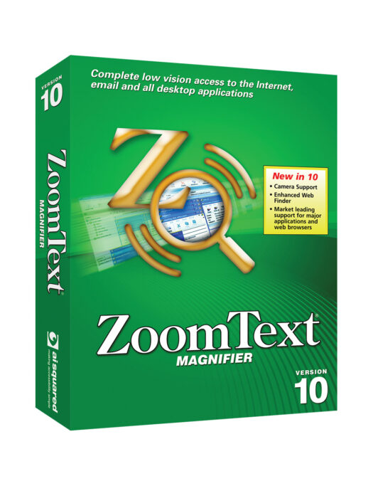 ZoomText Magnifier Software