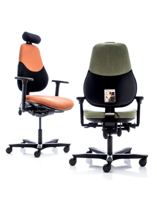 Orangebox Flo2 Medium Back Office Chairs