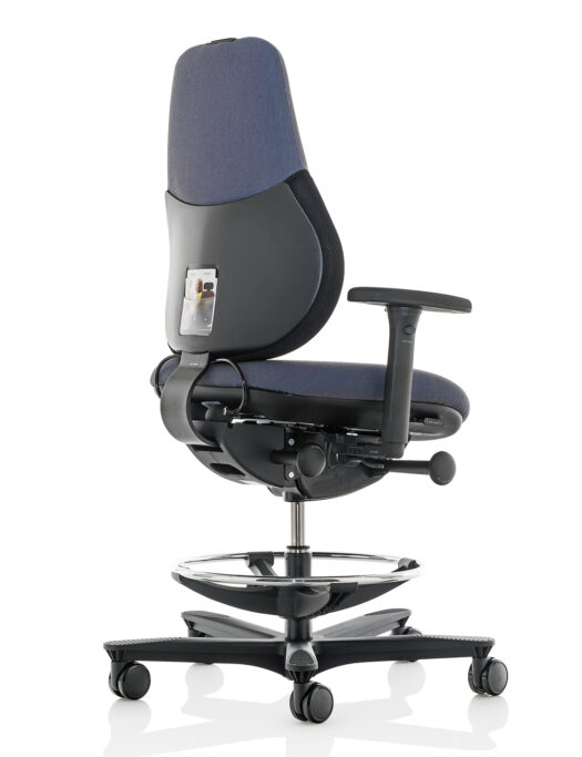 Orangebox Active Ergonomics Flo2 Medium Back Office Chair with footring