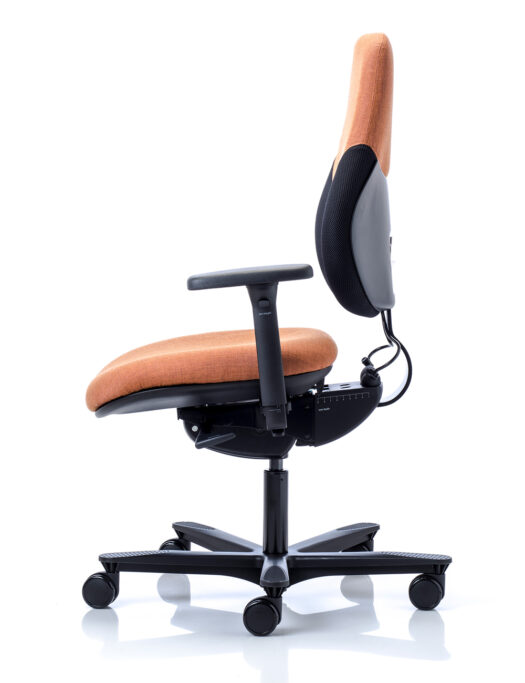 Orangebox Active Ergonomics Flo2 Medium Back Office Chair side