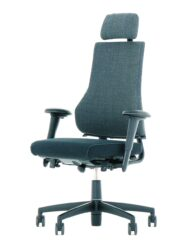 BMA Axia 2.4 Office Chair Polished Black Frame