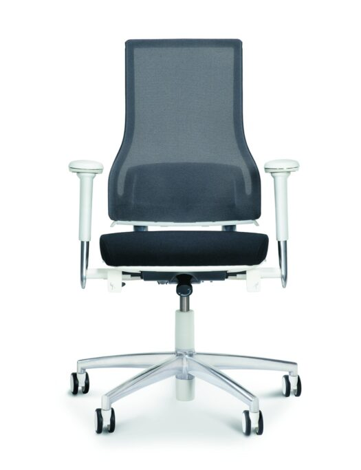 BMA 2.5 Mesh High Back Office Chair White Frame