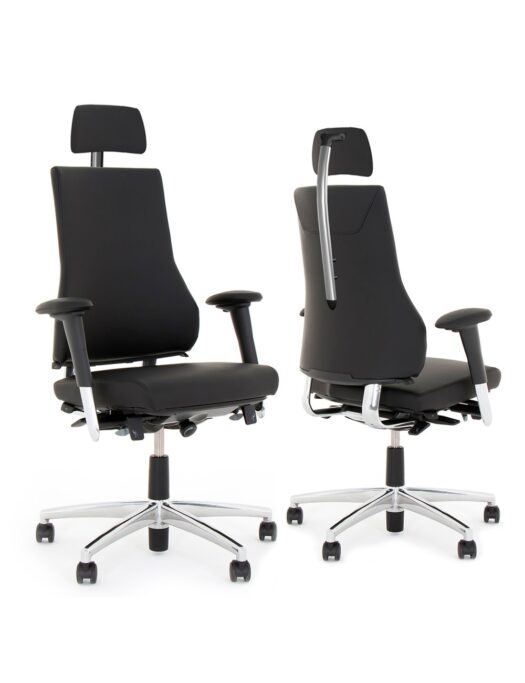BMA Axia 2.4 Leather Office Chairs