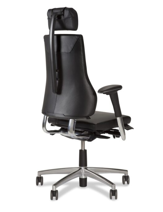 BMA Axia 2.4 Leather Office Chair back