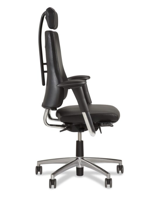 BMA Axia 2.4 Leather Office Chair side
