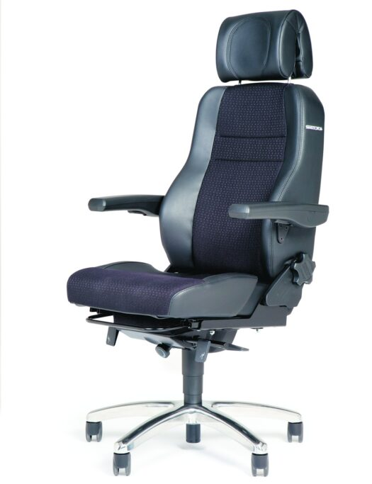 BMA Secur24 Exclusive 24 Hour Control Room Office Chair side