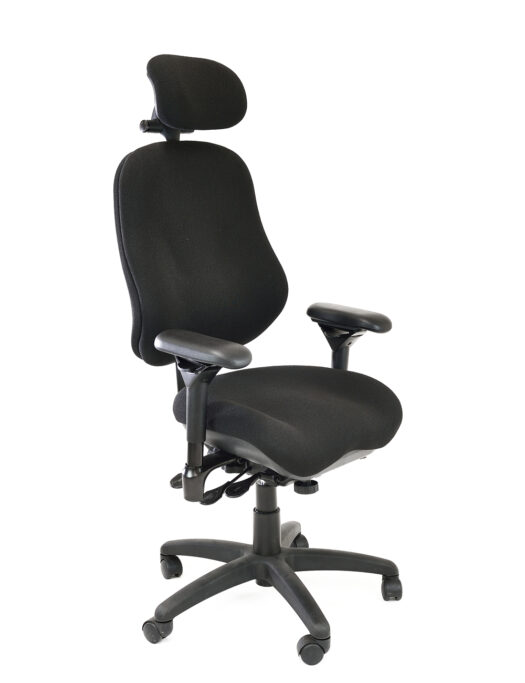 Bodybilt J3407 Office Chair with Head Rest side