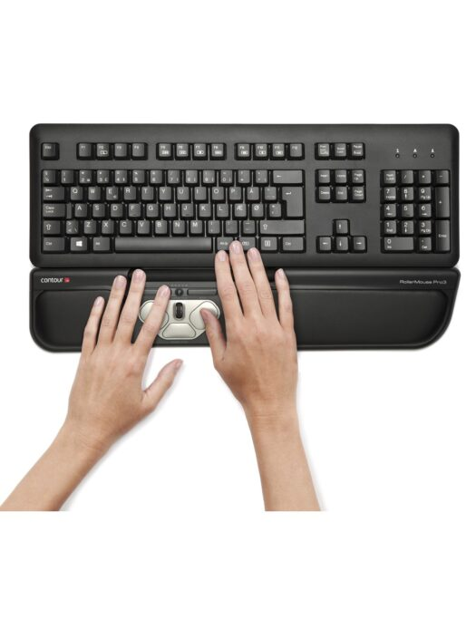 Contour Rollermouse Pro3 with Keyboard